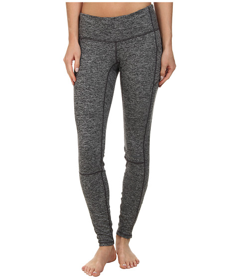 Brooks - Utopia Thermal Tight II (Heather Black) Women's Workout