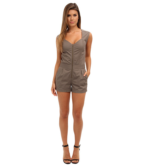 Trina Turk - Finley Romper (Fatigue) Women's Jumpsuit & Rompers One Piece