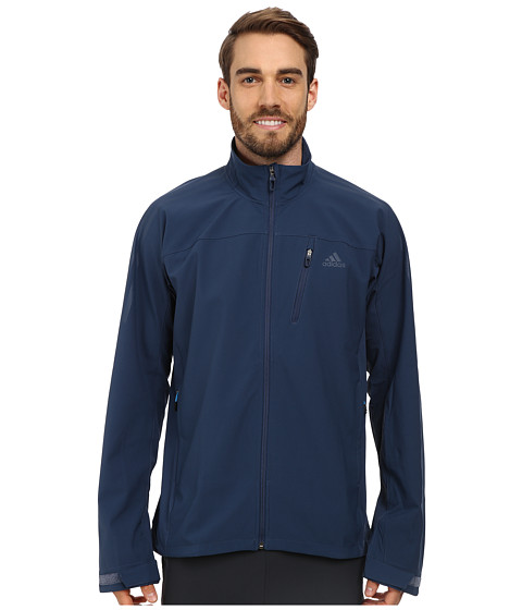adidas Outdoor - Terrex Swift Softshell Jacket (Rich Blue) Men