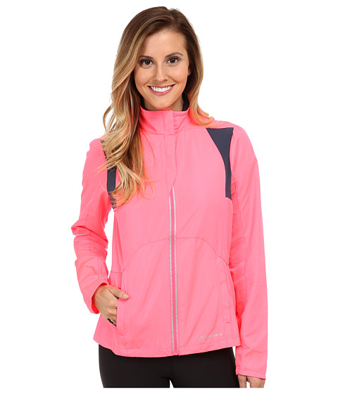 Brooks - Nightlife Essential Jacket III (Brite Pink/Midnight) Women's Coat