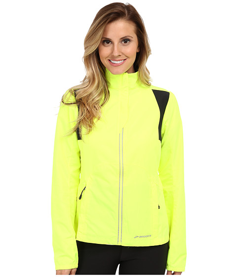 Brooks - Nightlife Essential Jacket III (Nightlife/Black) Women's Coat