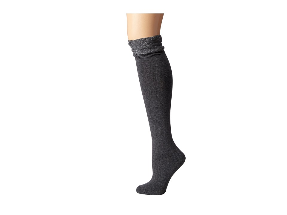M&F Western - Blazin Roxx Fashion Sock (Grey Slouch) Women's Knee High Socks Shoes