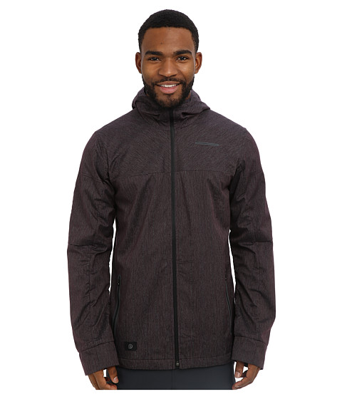 Brooks - PureProject Thermal Jacket (Fig/Black) Men's Jacket