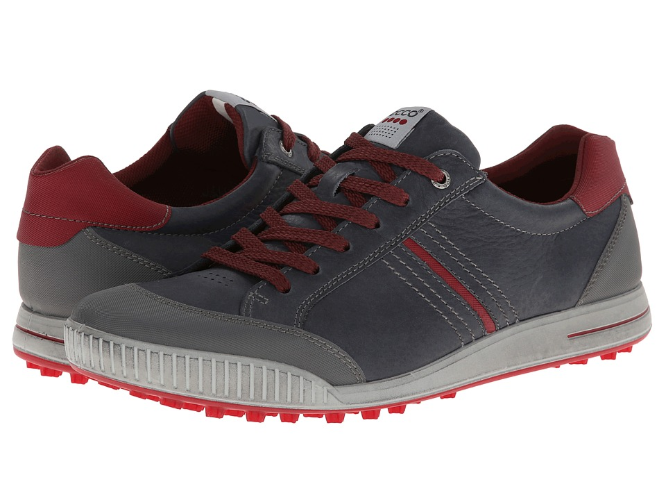 ECCO Golf - Street Hybrid (Ombre/Port/Brick) Men's Golf Shoes