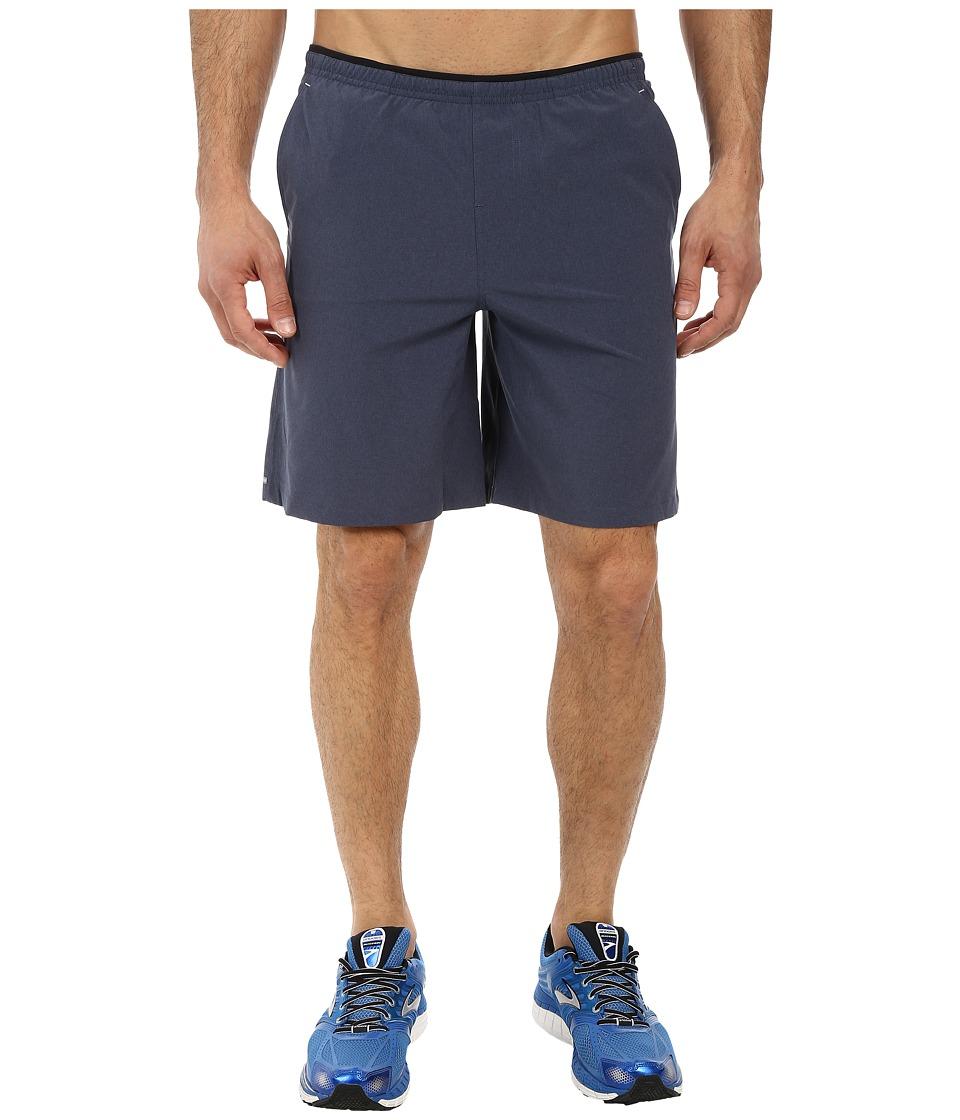 Brooks - PureProject 9 Woven Short (Heather Black) Men's Shorts
