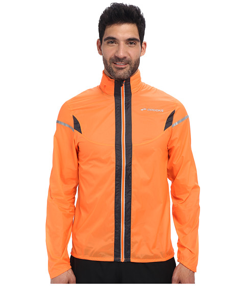 Brooks - LSD Lite Jacket IV (Brite Orange/Anthracite) Men's Jacket