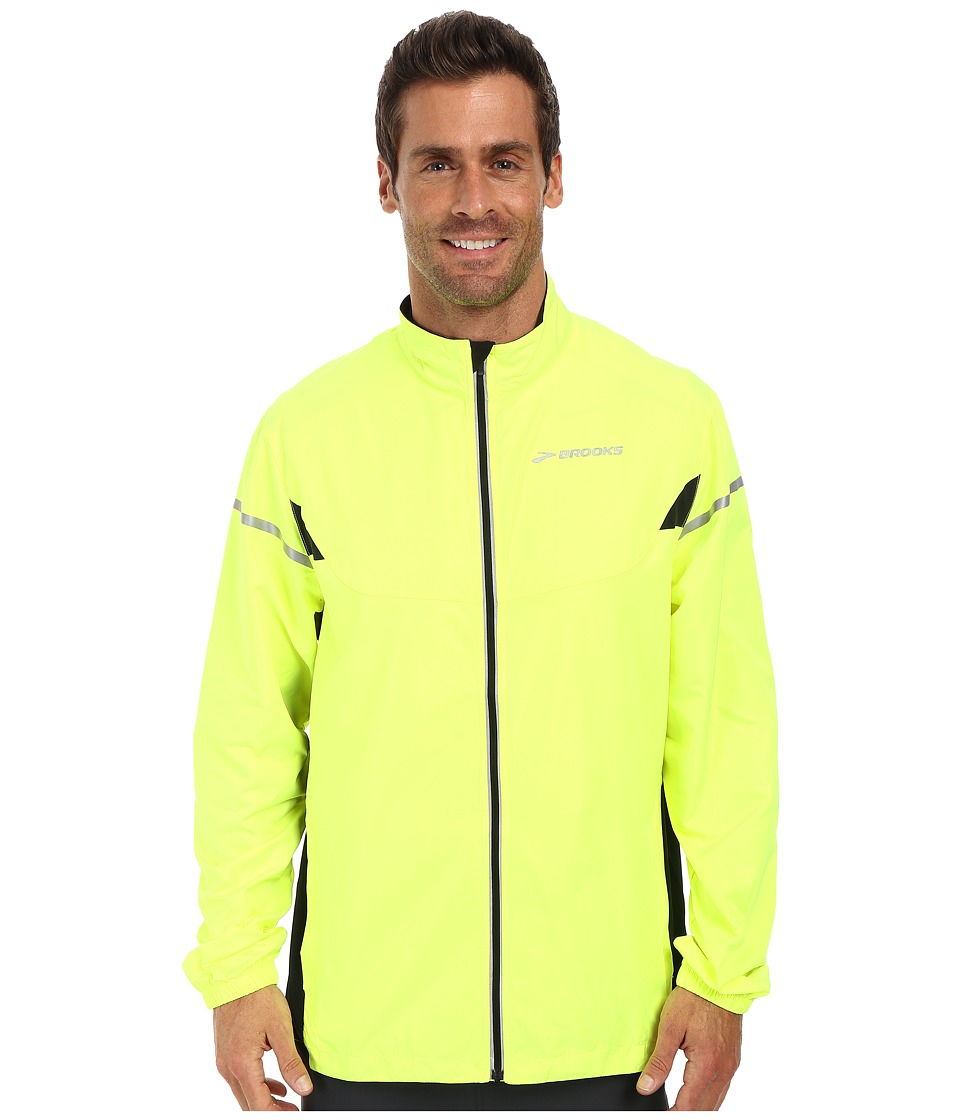 Brooks - Essential Jacket IV (Nightlife/Black) Men's Coat