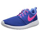 Nike Kids Roshe Run (Little Kid/Big Kid) (Hyper Cobalt/University Blue/White/Hyper Pink)