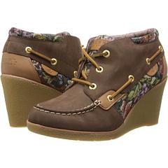 Sperry Top-Sider Hadley (Dark Brown) Women's Wedge Shoes