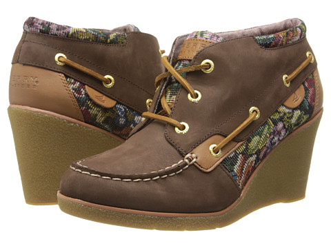 Sperry Top-Sider - Hadley (Dark Brown) Women's Wedge Shoes