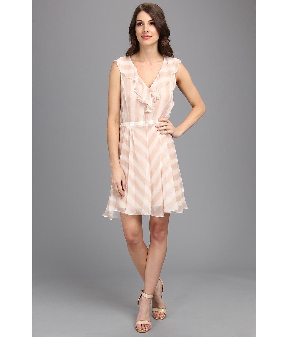 Nanette Lepore Subtle Hint Dress (Blush) Women