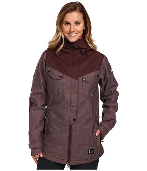 Nike SB - Soho Jacket (Deep Burgundy/Deep Burgundy/Ivory) Women's Coat