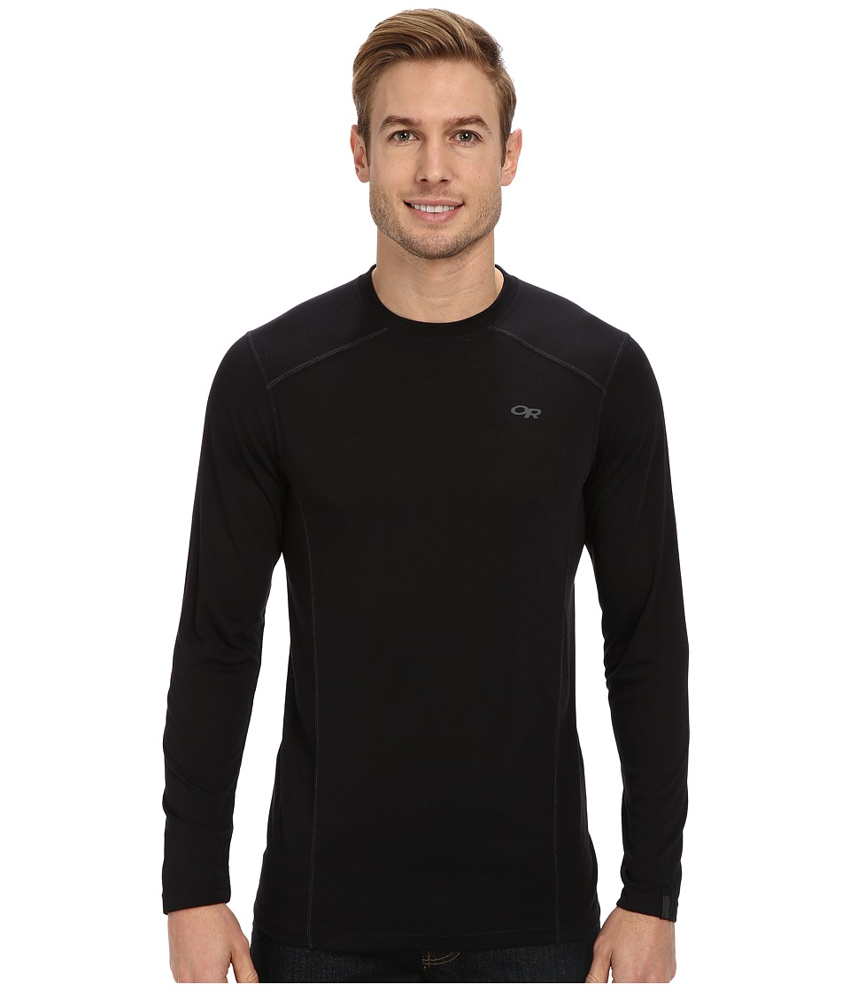 Outdoor Research - Sequence L/S Crew (Black) Men