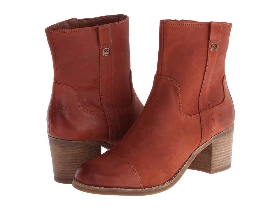 Sperry Top-Sider - Helena (Russet) Women's Dress Pull-on Boots