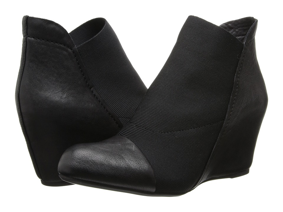 Gentle Souls - Fenton (Black Leather) Women's Shoes