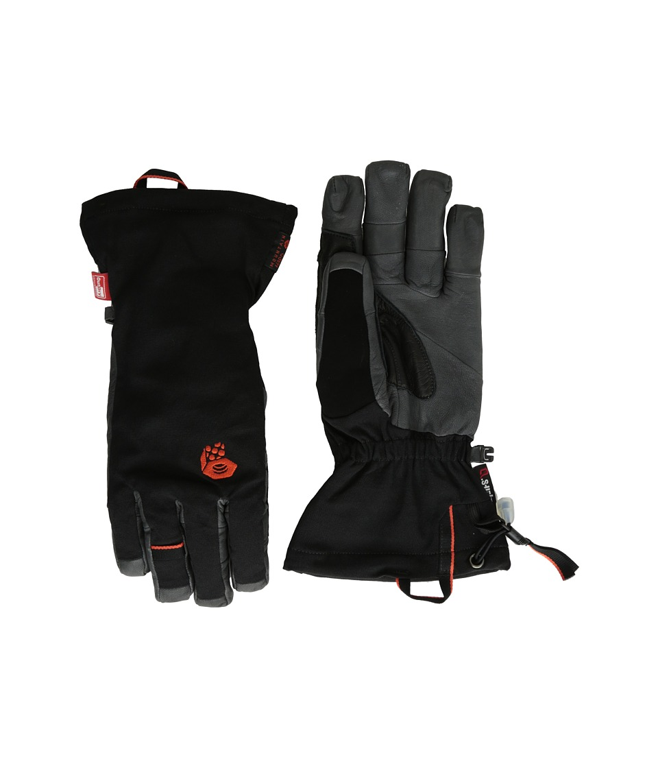 Mountain Hardwear - Hydra Glove (Black/State Orange) Extreme Cold Weather Gloves