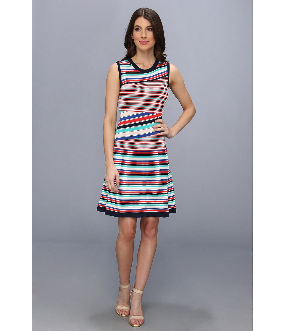 Nanette Lepore - Enchanting Shift Dress (Stripe Multi) Women's Dress