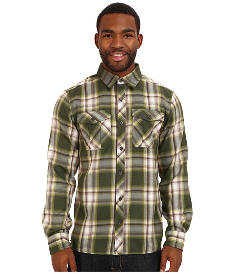 Outdoor Research - Pitch Shirt (Evergreen/Hops) Men's Long Sleeve Button Up
