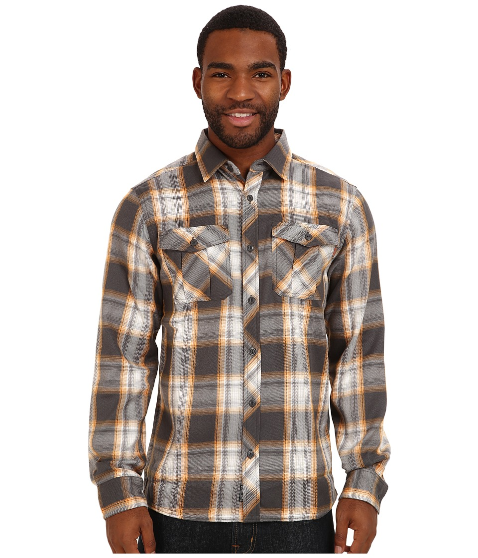 Outdoor Research - Pitch Shirt (Charcoal/Bengal) Men's Long Sleeve Button Up