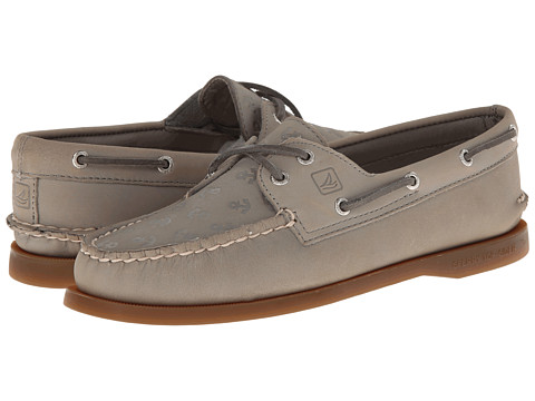 Sperry Top-Sider - A/O Embossed (Charcoal Anchors) Women's Shoes