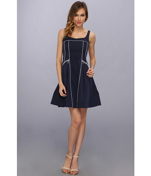 UPC 801303926550 - Nanette Lepore Spring Party Dress (Indigo ...