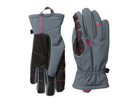 Mountain Hardwear - Torsion Insulated Glove (Graphite/Bright Rose) Extreme Cold Weather Gloves