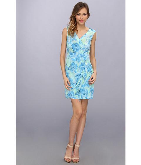 Nanette Lepore - Cove Copacabana Dress (Blue Sky Multi) Women