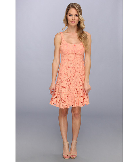Nanette Lepore - Summer Sheath (Coral) Women's Dress