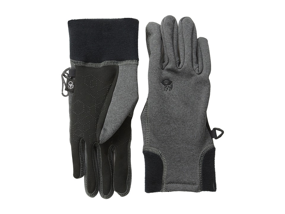 Mountain Hardwear - Power Stretch Stimulus Glove (Heather Grey) Extreme Cold Weather Gloves