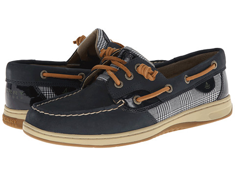Sperry Top-Sider - Ivyfish (Navy/Prince of Wales) Women's Slip on Shoes
