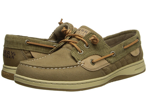 Sperry Top-Sider Ivyfish (Brown/Tan) Women's Slip on  Shoes
