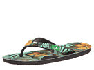 Sanuk Palm Diggity (Black/Green Tropic)
