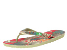 Sanuk Palm Diggity (Red/Natural Tropic)