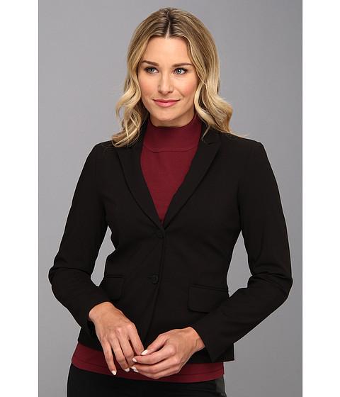 Calvin Klein - 2 Button Jacket (Black) Women's Jacket