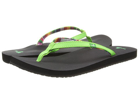 Sanuk - Maritime (Lime) Women's Sandals
