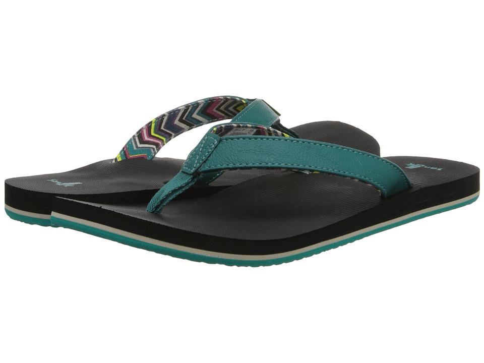Sanuk - Springwater (Teal) Women's Sandals