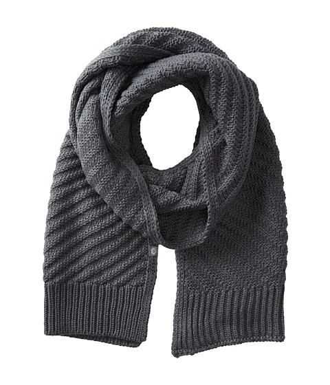 Mountain Hardwear - Mountain Abbey Scarf (Graphite) Scarves