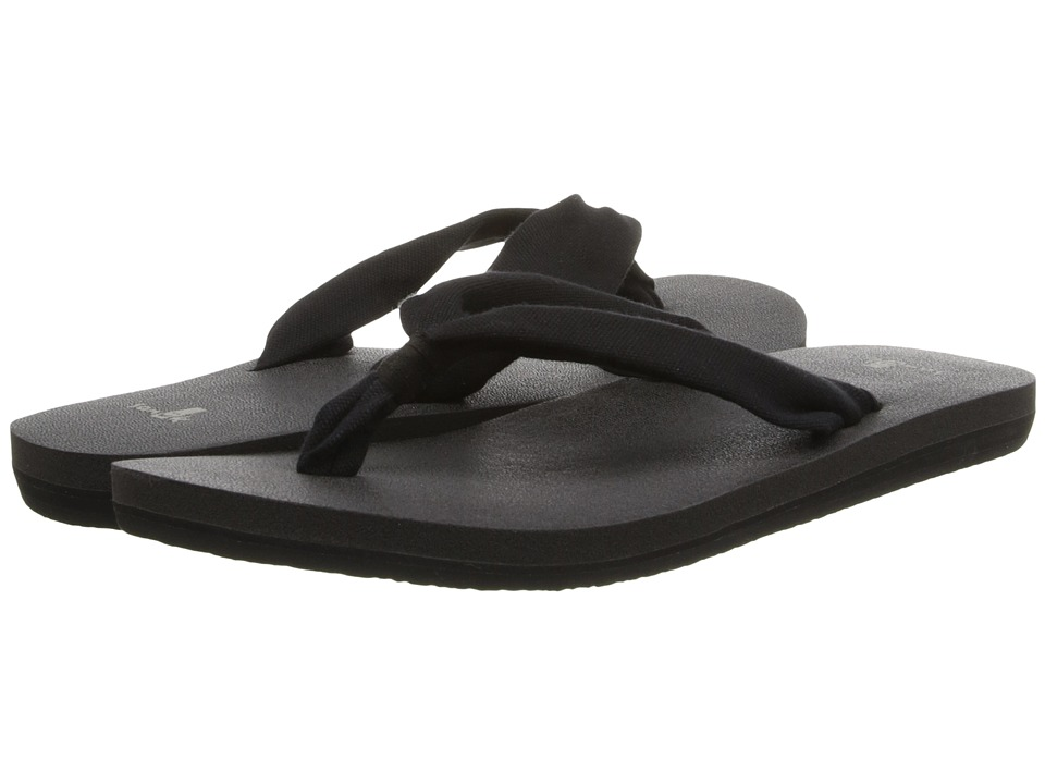 Sanuk Yoga Slinger (Black) Women