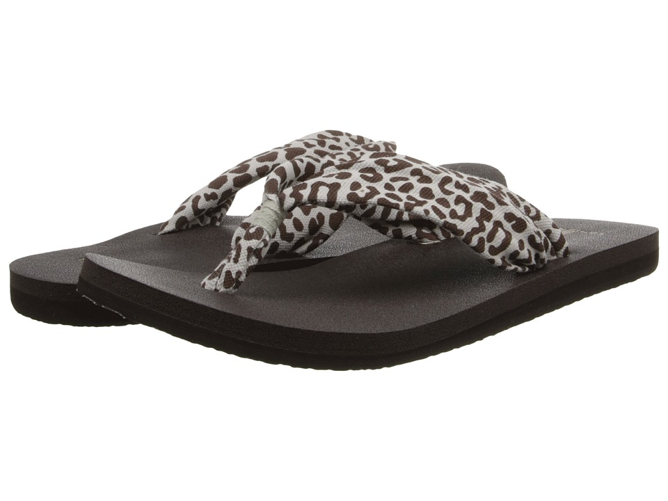 Sanuk - Yoga Slinger Prints (Cheetah) Women's Sandals