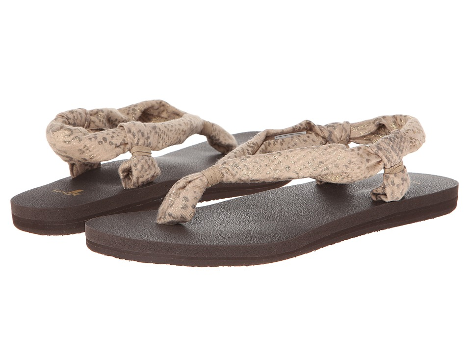 Sanuk - Yoga Slingshot Prints (Natural Snake) Women's Sandals