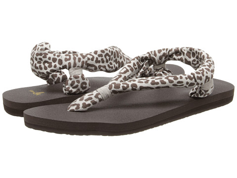 Sanuk - Yoga Slingshot Prints (Zebra) Women's Sandals