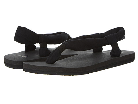 Sanuk - Yoga Slingshot (Black) Women