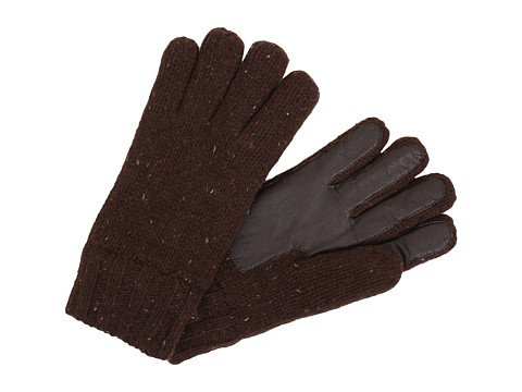 UGG - Calvert Glove with Smart Glove Leather Palm (Stout Heather M) Dress Gloves