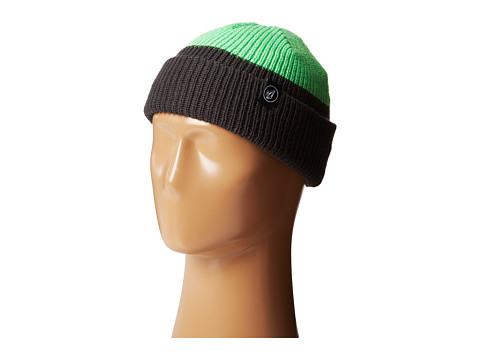 Volcom - Grip Beanie (Electric Green) Beanies