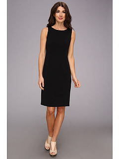 SALE! $44.99 - Save $44 on Nine West Bi Stretch Seamed Sheath Dress (Black) Apparel - 49.45% OFF $89.00