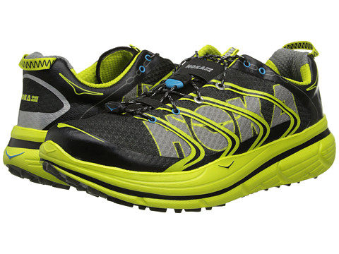 Hoka One One - Rapa Nui 2 (Black/Yellow/Grey) Men's Running Shoes