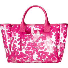 SALE! $24.99 - Save $10 on Crocs Daisy Printed Jelly Small Tote (Fuchsia) Bags and Luggage - 28.58% OFF $34.99