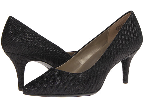 Bandolino - Inspire (Black Glamour Fabric) High Heels