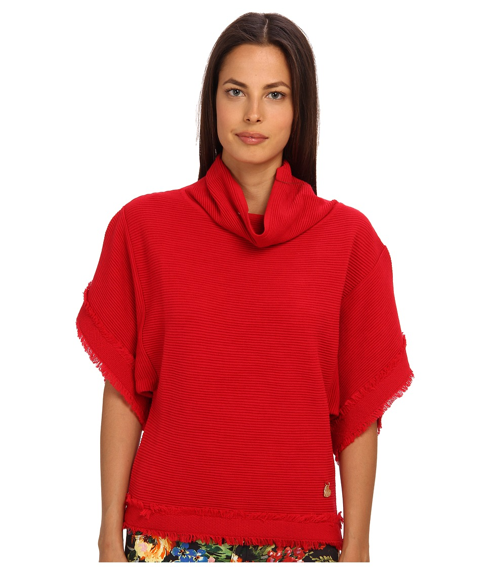 LOVE Moschino - Dolman Sleeve Sweater (Red) Women's Sweater