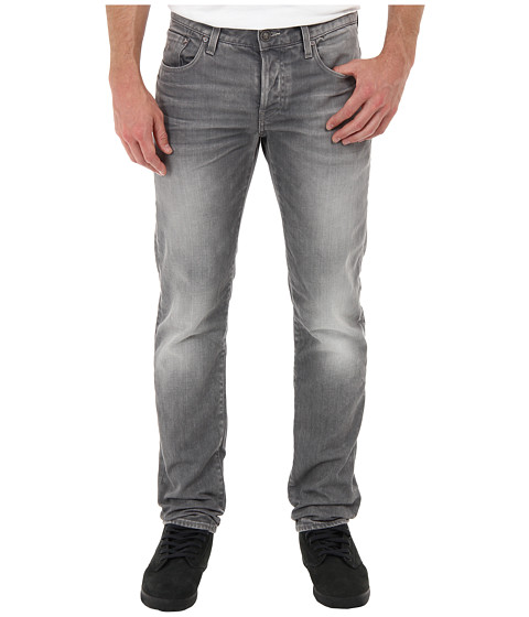 G-Star - 3301 Low Tapered in Dust Light Aged (Light Aged) Men